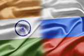 India and Russia — Stock Photo
