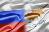Russia and Cyprus — Stock Photo