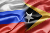 Russia and East Timor — Stock Photo