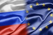 Russia and EU — Stock Photo