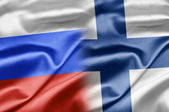 Russia and Finland — Stock Photo
