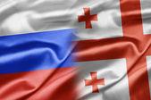 Russia and Georgia — Stock Photo