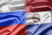 Russia and Paraguay — Stock Photo