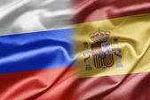 Russia and Spain — Stock Photo