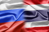 Russia and Thailand — Stock Photo