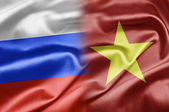 Russia and Vietnam — Stock Photo
