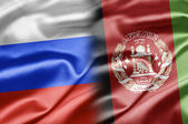 Russia and Afghanistan — Stock Photo