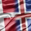 Denmark and Iceland — Stock Photo