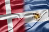 Denmark and Argentina — Stock Photo
