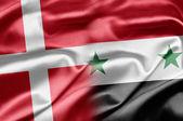 Denmark and Syria — Stock Photo