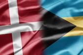 Denmark and Bahamas — Stock Photo