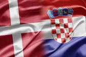 Denmark and Croatia — Stock Photo