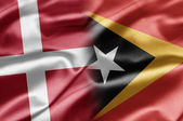 Denmark and East Timor — Stock Photo