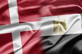 Denmark and Egypt — Stock Photo
