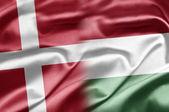 Denmark and Hungary — Stock Photo