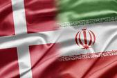 Denmark and Iran — Stock Photo