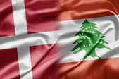 Denmark and Lebanon — Stock Photo