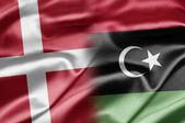 Danemark et la Libye — Photo