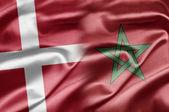 Denmark and Morocco — Stock Photo
