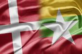 Denmark and Myanmar — Stock Photo