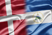 Denmark and Nicaragua — Stock Photo