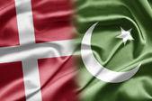 Denmark and Pakistan — Stock Photo
