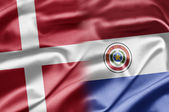 Denmark and Paraguay — Stock Photo
