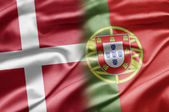 Denmark and Portuga — Stock Photo