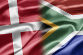 Denmark and South Africa — Stock Photo