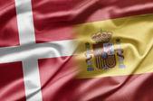 Denmark and Spain — Stock Photo