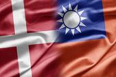 Denmark and Taiwan — Stock Photo