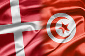 Denmark and Tunisia — Stock Photo