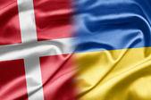 Dánsko a Ukrajina — Stock fotografie
