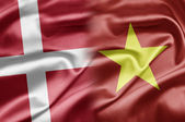 Denmark and Vietnam — Stock Photo