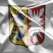 Schleswig-Holstein Flags and symbols of Germany. - Stock Photo