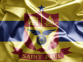 Flag of St. Paul, Minnesota — Stockfoto