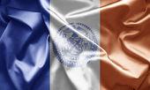 Flag of New York City — Stock Photo