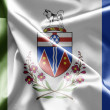 Stock Photo: Flag of Yukon