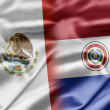 Mexico and Paraguay — Stock Photo