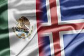 Mexiko und island — Stockfoto