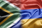 South Africa and Armenia — Stock Photo