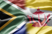 South Africa and Brunei — Stock Photo