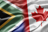 South Africa and Canada — Stock Photo