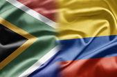 Zuid-afrika en colombia — Stockfoto