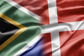 South Africa and Denmark — Stock Photo
