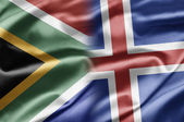South Africa and Iceland — Stock Photo