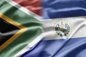 Sud africa e salvador — Foto Stock