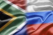 Sudáfrica y Rusia — Foto de Stock