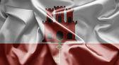 ジブラルタルの旗 — ストック写真