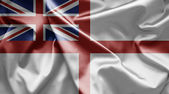 Flag of Naval ensign of UK — Stock Photo